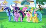"2015 equine female feral friendship_is_magic group horn lemon_hearts_(mlp) mammal minuette_(mlp) my_little_pony mysticalpha twilight_sparkle_(mlp) twinkleshine_(mlp) unicorn unknown_character  Rating: Safe Score: 12 User: Robinebra Date: July 05, 2015"""