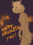 anthro female halloween hi_res holidays imaajfpstnfo mummy nickelodeon pumpkin sandy_cheeks solo spongebob_squarepants undead  Rating: Safe Score: 0 User: imaajfpstnfo Date: October 25, 2011