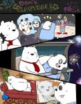 2015 anthro bear black_fur bow_tie clothing comic cute dialogue duo english_text fur graft_(artist) ice_bear male mammal multicolored_fur panda panda_(character) polar_bear smile text two_tone_fur we_bare_bears white_fur  Rating: Safe Score: 5 User: zidanes123 Date: October 05, 2015
