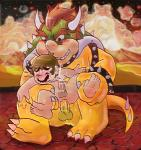 anal big_dom_small_sub blush bowser censored chubby cum desert duo facial_hair from_behind human koopa male male/male mammal mario mario_bros mustache night nintendo outside penis precum saladbowl scalie size_difference sweat video_games  Rating: Explicit Score: 5 User: Zest Date: April 06, 2015""