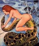 bestiality breasts duo female feral flute forked_tongue hair interspecies male musical_instrument musical_note nude red_hair reptile scalie smoke snake snakecharmer tongue tongue_out unknown_artist  Rating: Questionable Score: 3 User: stephen3030 Date: August 10, 2015