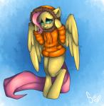 blue_eyes clothing crossover cute equine feathers female feral fluttershy_(mlp) friendship_is_magic fur hair jacket mammal my_little_pony parka pegasus pink_hair poisindoodles south_park wings yellow_feathers yellow_fur  Rating: Safe Score: 5 User: Sinwolf13 Date: November 13, 2015