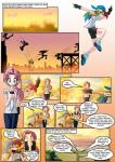 afternoon clothed clothing comic dialogue english_text female fluttershy_(mlp) friendship_is_magic group hair hat human humanized mammal mauroz multicolored_hair my_little_pony pink_hair rainbow_dash_(mlp) rainbow_hair text   Rating: Safe  Score: 2  User: darknessRising  Date: September 16, 2013