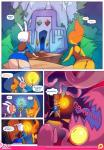 adventure_time clothed clothing doxy duo elemental female fionna_the_human fire_elemental flame_princess hair hi_res human humanoid mammal not_furry princess red_hair royalty text  Rating: Questionable Score: 5 User: HATFANCY Date: August 14, 2015