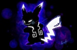 electricity evil looking_at_viewer nintendo pikachu pokémon solo vengefulspirits video_games   Rating: Safe  Score: 8  User: cookiekangaroo  Date: December 18, 2011