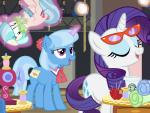 applejack_(mlp) blue_eyes blue_fur blue_hair bound coco_pommel_(mlp) coffee cup cutie_mark disguise equine eyeshadow eyewear fabric female feral floating friendship_is_magic fur gag glasses glowing group hair horn horse levitation magic magical_binding makeup mammal my_little_pony needles open_mouth pixelkitties pony purple_eyes purple_hair rarity_(mlp) sewing_machine smile sparkles spool trixie_(mlp) two_tone_hair unicorn white_fur   Rating: Safe  Score: 9  User: Jatix  Date: January 06, 2014