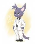 anthro blush clothed clothing cute gentleman morenatsu ofuro proper shin_(morenatsu) simple_background solo suit white_background  Rating: Safe Score: 0 User: Lionxie Date: May 03, 2016