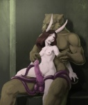 balls breasts erection feline female forced golem lagomorph male male/female mammal monster nib-roc penis rabbit tentacles