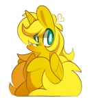 <3 blonde_hair blue_eyes chibi cute equine fan_character feral golden_ticket hair happy horn lifeloser mammal my_little_pony sitting solo winged_unicorn wings  Rating: Safe Score: 4 User: Burgerpants Date: October 26, 2015