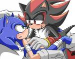 angelofhapiness bandage blush chest_tuft clothing duo footwear fur gloves green_eyes male male/male red_eyes shadow_the_hedgehog shoes sonic_(series) sonic_the_hedgehog tuft  Rating: Questionable Score: 0 User: Untamed Date: August 13, 2015