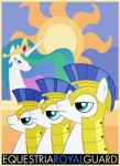 equestria-election equine female feral friendship_is_magic guard_pony horn horse male mammal my_little_pony pony poster princess princess_celestia_(mlp) propaganda royal_guard_(mlp) royalty sun   Rating: Safe  Score: 2  User: Skiltaire  Date: June 09, 2011
