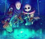 animated_skeleton bone digital_media_(artwork) eyes_closed glowing glowing_eyes male myebi not_furry papyrus_(undertale) sans_(undertale) skeleton undead undertale video_games  Rating: Safe Score: 5 User: Vallizo Date: January 30, 2016