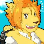 amber_eyes anthro bag clothing feline hi_res lion male mammal morenatsu open_mouth smile solo soutarou_(morenatsu) unknown_artist  Rating: Safe Score: 0 User: slyroon Date: December 20, 2015