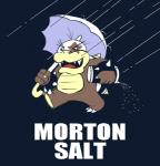 fupoo holding_object holding_umbrella humor koopa koopaling male mario_bros morton_koopa_jr. morton_salt nintendo parody pun salt scalie solo umbrella video_games