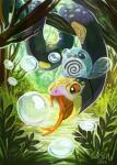 ambiguous_gender bubble cute cuteskitty duo fangs grass nintendo outside pokémon poliwag red_sclera reptile scalie seviper snake tadpole teeth tongue tree video_games water   Rating: Safe  Score: 8  User: DeltaFlame  Date: February 13, 2015