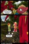 2017 3d_(artwork) anthro big_macintosh_(mlp) clothing comic dialogue digital_media_(artwork) dragon earth_pony equine exposing eyewear forest friendship_is_magic garble_(mlp) glasses grin hair hi_res horn horse jamari male mammal membranous_wings multicolored_hair my_little_pony open_mouth outside pony scales scalie smile sunburst_(mlp) teeth text tree wings