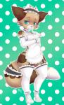 anthro clothed clothing feline female looking_at_viewer maid_uniform mammal smile solo standing thick_thighs uniform wide_hips yuxareRating: SafeScore: 1User: Cat-in-FlightDate: October 21, 2016