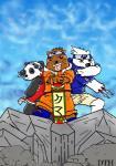 bear black_fur brown_fur charlielizardon_(artist) clothing cosplay crossdressing crossover fur grizzly_(character) group ice_bear japanese mammal naruto ninja panda panda_(character) sakura sasuke scroll shuriken source_request we_bare_bears white_fur  Rating: Safe Score: 1 User: zidanes123 Date: October 05, 2015