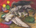 "2014 avian fellatio female feral feral_on_feral group group_sex gryphon knot kristen_buckner male male/female oral penetration penis pussy sex spitroast threesome vaginal vaginal_penetration  Rating: Explicit Score: 6 User: ksdguerith Date: June 28, 2015"""