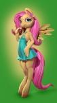 3d anthro digitigrade equine female fluttershy_(mlp) friendship_is_magic mammal my_little_pony pegasus runsammya solo wings  Rating: Safe Score: 1 User: Daneasaur Date: September 03, 2015