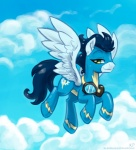 2013 blue_clothing blue_feathers blue_fur blue_hair clothed clothing cloud cloudscape equine eyewear feathered_wings feathers feral flight_suit friendship_is_magic fur goggles green_eyes hair karol_pawlinski male mammal my_little_pony outside pegasus skinsuit sky soarin_(mlp) solo suit tight_clothing wings wonderbolts_(mlp)  Rating: Safe Score: 9 User: Granberia Date: July 24, 2013