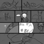 ! ... <3 ? antlers butt cervine clothed clothing comic deer female flexing half-dressed horn lagomorph lying mammal monochrome muscles nervous night nipples nude on_back on_side phone pillow police pose rabbit sitting slypon sweat tent thought_bubble topless   Rating: Questionable  Score: 4  User: TheHuskyK9  Date: April 11, 2015