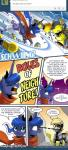 2014 comic cute derpy_hooves_(mlp) dialog english_text equine female feral friendship_is_magic horn horse john_joseco machine mammal mechanical my_little_pony pegasus pony princess_luna_(mlp) robot strider sword text video_games weapon winged_unicorn wings   Rating: Safe  Score: 10  User: Robinebra  Date: February 26, 2014
