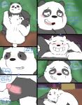 anal anal_penetration bear comic duo graft_(artist) ice_bear male male/male mammal panda panda_(character) penetration penis polar_bear we_bare_bears  Rating: Explicit Score: 14 User: Pokelova Date: October 30, 2015