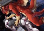 anal anal_penetration antlers backsack balls big_penis dragon eastern_dragon gustav horn ksirum male male/male open_mouth penetration penis sergal space tongue twinkle-sez wings