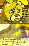 animatronic bear comic crying duo five_nights_at_freddy's five_nights_at_freddy's_3 golden_freddy_(fnaf) lagomorph machine male mammal mechanical rabbit riznben_(artist) robot springtrap_(fnaf) tears video_games yellow_eyes  Rating: Safe Score: 0 User: Vallizo Date: June 29, 2015""