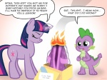 2013 clothing cutie_mark dialogue dragon duo english_text equine eyes_closed female feral fire friendship_is_magic fur gift green_eyes hair horn jepso magic male mammal multicolored_hair my_little_pony open_mouth parody purple_fur purple_hair sad scalie simple_background smoke spike_(mlp) tears text twilight_sparkle_(mlp) two_tone_hair unicorn young  Rating: Safe Score: -5 User: Granberia Date: May 14, 2013