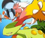 2014 3_fingers ambiguous_gender amphibian angry avian ban blaziken blue_background blue_body blue_eyes blue_skin claws green_body green_scales group nintendo plain_background pokémon red_body red_feathers reptile scalie sceptile swampert tongue tongue_out video_games   Rating: Safe  Score: 3  User: Yellowfin_Tuna  Date: January 14, 2015
