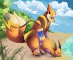 ambiguous_gender beach cum duo elapid erection feral floatzel fur interspecies male multiple_tails nintendo nude orgasm outside paws penetration penis pokémon raichu seaside sex size_difference tuft video_games   Rating: Explicit  Score: 13  User: suirdra  Date: May 22, 2015