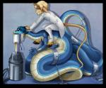 ambiguous_gender blue_scales caprine chain digital_media_(artwork) duo fetlocks forced forked_tongue goat ladyvenommyotismon male mammal naga poison purple_tongue reptile scalie shackles snake tongue tongue_out  Rating: Safe Score: 3 User: h4x0r Date: July 06, 2015