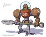 2013 amazing armor arne_niklas_jansson diglett hands machine mechanical nintendo plain_background plant pokémon robot shadow shovel video_games what what_has_science_done white_background   Rating: Safe  Score: 15  User: king-kaze  Date: April 06, 2014
