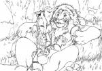 anthro aslan balls chronicles_of_narnia cum cumshot feline furryrevolution gay group group_sex licking lion male mammal monochrome mouse nipple_lick orgasm orgy penis reclining reepicheep ridiculous_fit rodent sex size_difference sword tongue vein weapon   Rating: Explicit  Score: 4  User: xes  Date: February 07, 2014