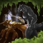 2012 anal anal_penetration canine couple cum cumshot dragon erection gay handjob interspecies jathiros_(artist) male mammal orgasm penetration penis sex wolf   Rating: Explicit  Score: 9  User: furmann  Date: March 06, 2014