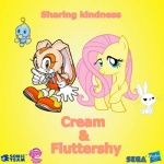 angel_(mlp) chao cheese_the_chao clothing cream_the_rabbit cub cutie_mark duo equine feathered_wings feathers female feral fluttershy_(mlp) friendship_is_magic fur hair horse lagomorph logo long_hair male mammal my_little_pony pegasus pink_hair pony rabbit sonic_(series) text white_fur wings yellow_fur young  Rating: Safe Score: -4 User: QuetzalcoatlColorado Date: March 26, 2016
