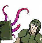 2017 armor duo facial_hair human human_focus imperial_guard lips male mammal monitor not_furry pale_skin penis penis_tentacles purple_penis reaction_image simple_background slaanesh soldier solo_focus tentacle_monster tentacles unknown_artist vein veiny_penis warhammer_(franchise) warhammer_40000 what white_backgroundRating: ExplicitScore: 61User: AxolotlDate: November 30, 2017