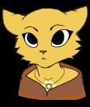 alpha_channel anthro feline female katia_managan khajiit looking_at_viewer mammal necklace plain_background prequel solo the_elder_scrolls transparent_background video_games   Rating: Safe  Score: 14  User: FrostyCakes  Date: October 20, 2014