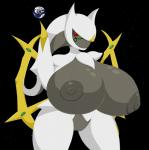 anthro anthrofied arceus big_breasts breast_expansion breasts earth elfdrago female giant hi_res huge_breasts hyper legendary_pokémon nintendo nipples planet pokémon pokémorph solo space video_games voluptuous wide_hips   Rating: Explicit  Score: 11  User: elfdrago  Date: December 31, 2014