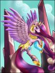 absurd_res armor equine female feral friendship_is_magic hi_res horn mammal my_little_pony pridark princess_cadance_(mlp) solo winged_unicorn wings   Rating: Safe  Score: 17  User: Robinebra  Date: April 04, 2015