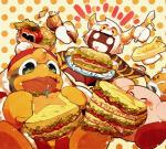 alien avian bird blush digital_media_(artwork) food group king_dedede kirby kirby_(series) male nintendo video_games たはる  Rating: Safe Score: 5 User: Cαnε751 Date: December 16, 2015