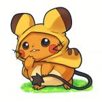 ambiguous_gender costume cute dedenne huiro looking_at_viewer nintendo pokémon solo video_games  Rating: Safe Score: 7 User: slyroon Date: January 27, 2015