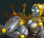 aka6 blue_eyes female glowing glowing_eyes league_of_legends looking_at_viewer machine mechanical not_furry orianna robot solo thick_thighs video_games   Rating: Questionable  Score: 4  User: Juni221  Date: January 29, 2015