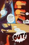 2015 angry avoid_posting blue_eyes cave comic dialogue dragon duo ears_back female feral frisky_ferals horn inside kindle long_neck male mane mother open_mouth parent red_scales scalie sefeiren son speech_bubble text tongue vera_(sefeiren) white_scales   Rating: Questionable  Score: 20  User: otterface  Date: March 13, 2015