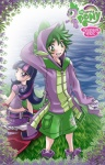 blush clothing friendship_is_magic grass green_eyes horn human humanized male mammal mauroz my_little_pony not_furry purple_eyes rarity_(mlp) smile spike_(mlp) twilight_sparkle_(mlp) water   Rating: Safe  Score: 11  User: skykid  Date: October 02, 2012