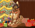 anthro areola black_hair breasts brown_fur candy candy_cane canine christmas christmas_tree female food fur hair holidays inside kneeling looking_at_viewer mammal nipples nude puflitos ribbons smile solo tongue tongue_out tree  Rating: Questionable Score: 12 User: EmoCat Date: October 01, 2015
