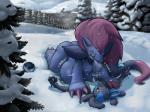breasts ceres cold duo female lucario lying male male/female nintendo nipples ozoneserpent pine pokémon snow text tongue tree video_games vore zane zoroark  Rating: Explicit Score: 23 User: Midnight_Daydream Date: December 13, 2015