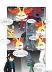 braixen comic group hi_res human lucario mammal nintendo pikachu pokémon video_games winick-lim zoroark  Rating: Safe Score: 2 User: AdmiralGreg Date: January 22, 2016